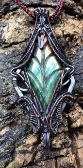 Spirituelles Erwachen Halskette