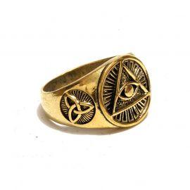 Freimaurer Messing Ring