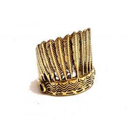 Manitu Messing Ring
