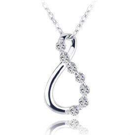 Damen Kette Silber 925 Infinity