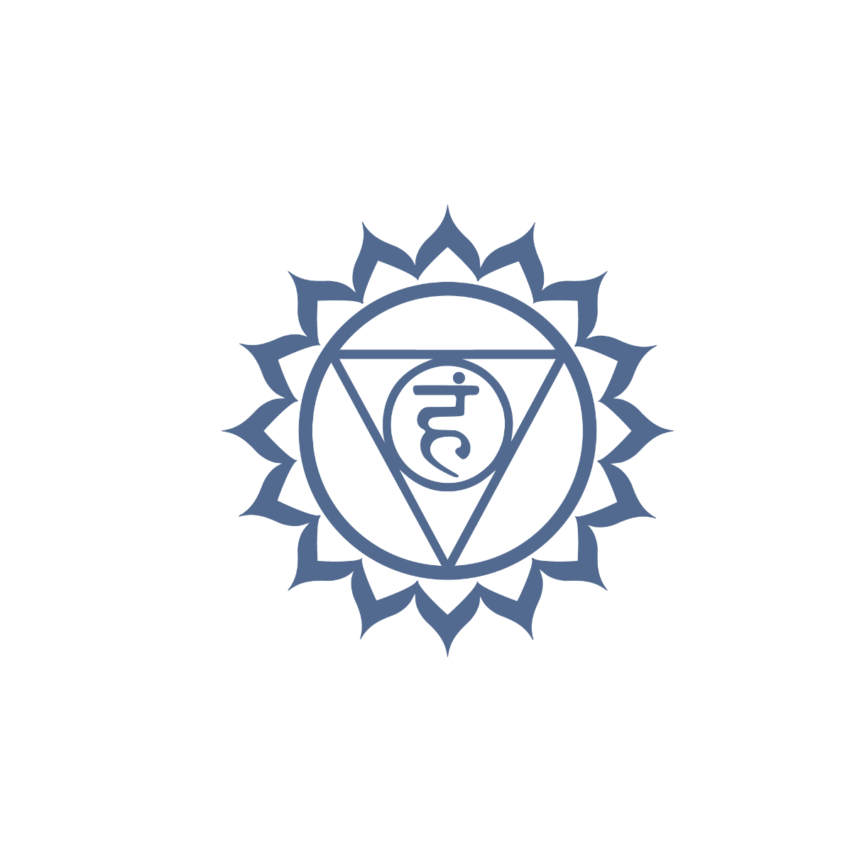 Vishuddha Kehlkopf- Hals-chakra