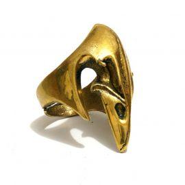 Vogel Schnabel Messing Ring