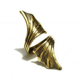 Drachen Flügel Messing Ring